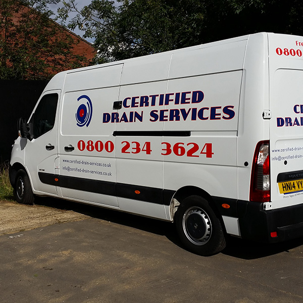 blocked drain services
